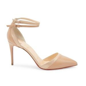 Christian Louboutin Uptown Double Ankle Strap 85mm